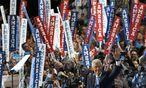 Ex-Präsident Bill Clinton pries seine Frau, Hillary, als die Reformerin, die Amerika jetzt braucht. / Bild: (c) REUTERS (SCOTT AUDETTE)