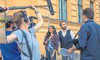 """Das Paar Collien Fernandes und Christian Ulmen spielt in der Webserie """"Mann/Frau"""".  / Bild: BR/Puls"""