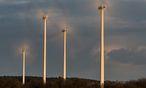 Die Windräder hatten in Deutschland einiges zu tun. / Bild: (c) APA/EPA/PATRICKPLEUL