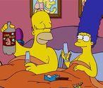 Früher war's lustiger. Heut rennen die jungen Leut bei Loveparades mit, starren aufs Smartphone, twittern und machen einander das (Sex)Leben schwer. / Bild: The Simpsons/Screenshot