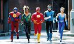 """""""Die Fantasie, eine Supermacht zu sein: Deshalb haben wir jetzt Filme über Superhelden."""" Szene aus dem Film """"Justice League of America"""". / Bild: (c) CBS"""