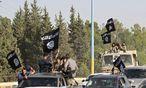 Kämpfer des Islamischen Staats im syrischen Raqqa / Bild: REUTERS