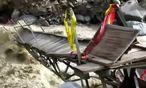 Abenteuerliche Rückkehr von Machu Picchu / Bild: (c) Reuters (Reuters, FEB 27 AMERICA TV, FEB 27)