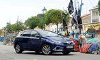 Toyota Auris Hybrid: sparsam und sauber in der Golf-Klasse. / Bild: Clemens Fabry/Die Presse