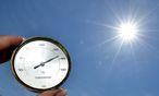 Die große Hitze blieb vergangenen Sommer aus, das Jahresmittel ist dennoch hoch. / Bild: APA/BARBARA GINDL