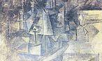 """Ein Picasso aus der kubistischen Phase: """"La Coiffeuse"""" von 1911. / Bild: (c) Archiv"""