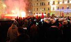 Archivbild: Anti-Akademikerball-Demo im Vorjahr / Bild: Clemens Fabry / Die Presse