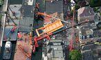 Eingestürzte Baukräne in Alphen aan Rijn  / Bild: APA/EPA/BRAM VAN DE BIEZEN