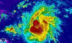 Der Sturm zieht mit 85 km/h nach Westen. / Bild: REUTERS
