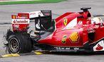 Reifenplatzer bei Sebastian Vettel / Bild: REUTERS