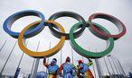 Olympische Ringe / Bild: REUTERS