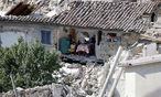 Die Bewohner Amatrices stehen vor dem Nichts. / Bild: REUTERS