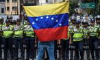 Der Widerstand gegen Präsident Maduro wächst. / Bild: (c) AFP (Juan Barreto)