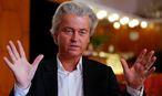 Wilders veröffentlichte sein Wahlprogramm. / Bild: REUTERS