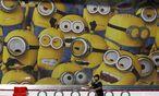 Minions eroberten den Dubliner Verkehr. / Bild: REUTERS