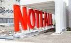 Die Baustelle des Krankenhaus Nord in Wien-Floridsdorf / Bild: Die Presse