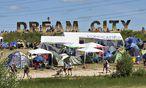 Das Roskilde-Festival ist das größte und umweltfreundlichste Musikfest Nordeuropas. / Bild: APA/EPA/TORBEN CHRISTENSEN