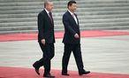 Erdogan mit Chinas Präsident Xi Jinping. / Bild: APA/EPA/HOW HWEE YOUNG