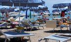 Strand von Lignano / Bild: Die Presse