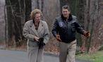 Margaret Thatcher und Ronald Reagan bei einem Treffen in den USA 1986 / Bild: EPA