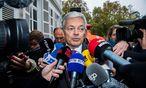 Verhandlungen bis zum Schluss: Belgiens Außenminister Didier Reynders / Bild: APA/AFP/BELGA/LAURIE DIEFFEMBACQ