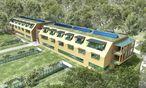 Ein Entwurf für das Rehab-Center / Bild: skyline architekten  ZT GmbH