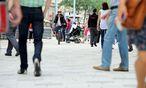 Die Fußgängerzone auf dr Mariahilfer Straße / Bild: Die Presse