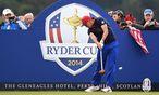 Rickie Fowler übt noch, um sein US-Team zum Ryder-Cup zu führen. / Bild: APA/EPA/ANDY RAIN