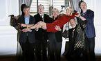 Erst im Sommer gaben Monty Python ein letztes Comeback. Jetzt sind alte Aufnahmen aufgetaucht. / Bild: REUTERS