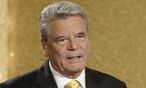 Joachim Gauck / Bild: (c) REUTERS (POOL)