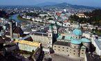 Panoramablick. Salzburg gibt es auch jenseits von Domplatz und Festspielhaus / Bild: (c) Bilderbox
