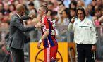 Guardiola, Schweinsteiger und Müller-Wohlfahrt / Bild: APA/EPA/ANDREAS GEBERT