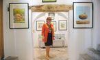 Erwin Mosers Frau, Ruth, kümmert sich um das kleine, hübsche Museum in Gols. / Bild: Die Presse/Clemens Fabry