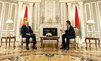 Alexander Lukaschenko und Sebastian Kurz in Minsk / Bild: APA/Außenministerium