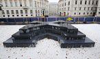 Das Deserteursdenkmal am Ballhausplatz in Wien ist das erste seiner Art in Österreich.  / Bild: Clemens Fabry / Die Presse