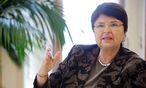 SPÖ-Finanzstadträtin Renate Brauner beim