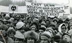 Au bei Hainburg Dezember 1984  / Bild: (c) Die Presse Blaha