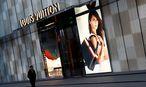 Louis Vuitton in China. / Bild:  REUTERS/Thomas Peter