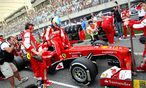 Fernando Alonso steigt aus dem Ferrari / Bild: GEPA pictures/ XPB Images/ Photo4