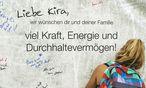 Genesungswünsche an Kira Grünberg / Bild: GEPA pictures
