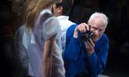 Cunningham unverkennbar in blauer Jacke. / Bild: REUTERS