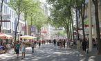 Archivbild: Die Mariahilfer Straße im vorigen Sommer / Bild: (c) Bloomberg (Lisi Niesner)