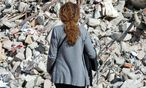 Welt in Trümmern. Zahlreiche mittelitalienische Kleinstädte, Dörfer und Weiler wie Amatrice, Accumoli und Nottoria wurden vom Beben der Vorwoche verwüstet. / Bild: APA/AFP/ANDREAS SOLARO