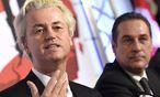 Wilders und Strache  / Bild: APA/EPA/HELMUT FOHRINGER