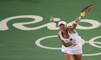Titel bei den Australian Open, Finale in Wimbledon, dazu olympisches Silber in Rio: Angelique Kerber gelang 2016 der Vorstoß in die absolute Weltspitze. / Bild: REUTERS