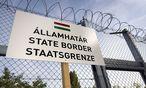 Ungarischer Grenzzaun / Bild: imago/EST&OST