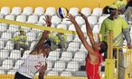 Beachvolleyballturnier in Doha / Bild: (c) REUTERS (� Suhaib Salem / Reuters)