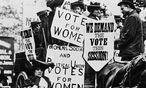 Suffragetten in London / Bild: (c) imago stock&people