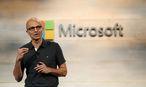 Microsoft CEO Satya Nadella / Bild: REUTERS