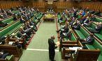 Die Abstimmung im Unterhaus hat vor allem symbolischen Wert.  / Bild: (c) Reuters (Reuters, OCT 14 PARLIAMENT TV - KEINE BESCHRÄNKUNGEN, OCT 14)